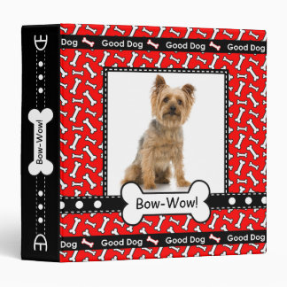 Dog Training Obedience Pet Store Custom Photo Binder