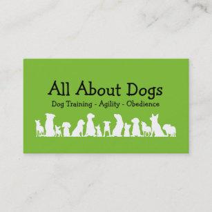 Dog training business cards templates zazzle dog training professional business card colourmoves