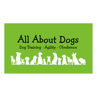Dog Training Professional Business Card