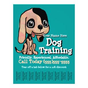 dog training flyers zazzle
