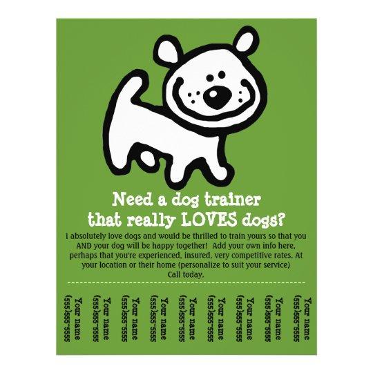 Dog Training Pamphlet