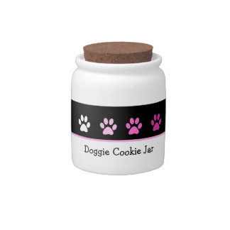 Dog Treat Cookie Jar Candy Dish