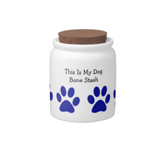 Dog Treat Cookie Jar Candy Dishes