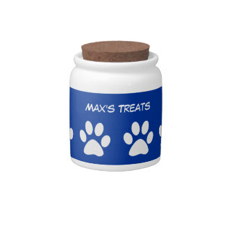 Dog Treat Cookie Jar Candy Jars