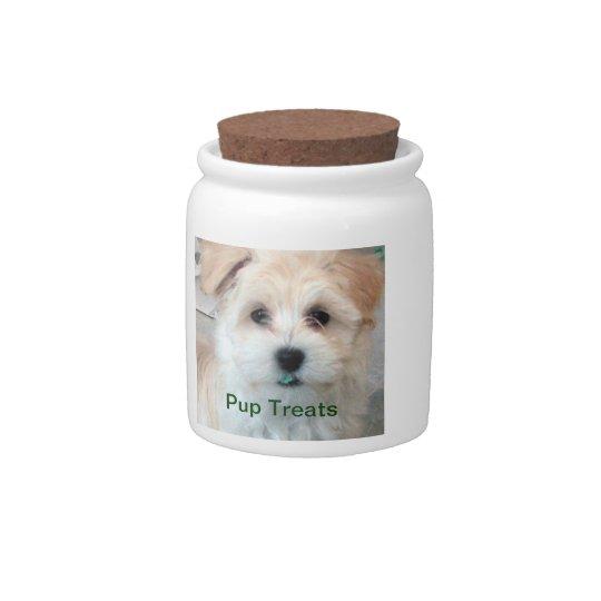 Dog treat cookie jar Havanese Candy Jars