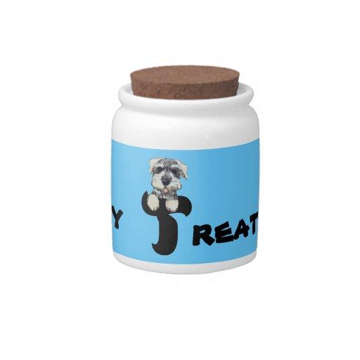 Dog Treat Jar Candy Jar