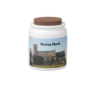 Dog Treat Jar Weeting Church Weeting Norfolk Candy Dishes