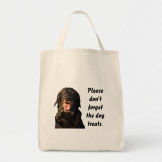 Dog Treats Reusable Grocery Bag