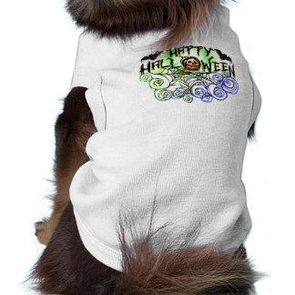 Dog Tshirt - Halloween - Happy Halloween with Bats