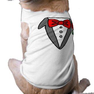 Dog Tuxedo t-shirt petshirt