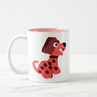 Dog Two-Tone Coffee Mug