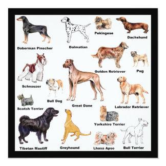Dog Types Card