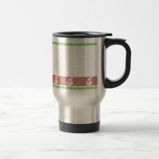 Dog Ulgy Christmas Travel Mug