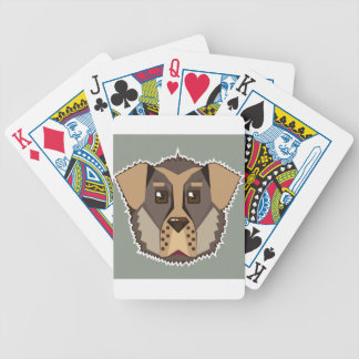 Dog Vector icon Bicycle Playing Cards