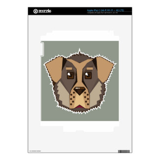 Dog Vector icon Skin For iPad 3