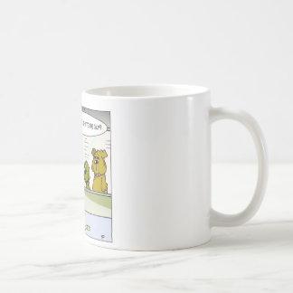 Dog Vs Hydrant Police Line Up Funny Gifts & Tees Coffee Mug