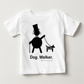 Dog Walker Baby T-Shirt