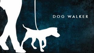 Dog walking business cards templates zazzle dog walker business card 35 x 20 colourmoves