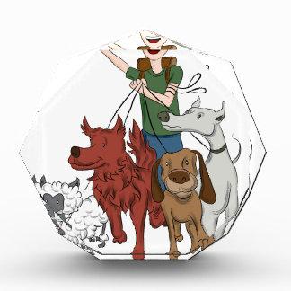 Dog Walker Cartoon Award