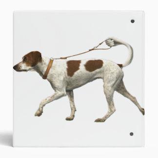 Dog walker - dog tail - braque saint germain binder