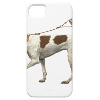 Dog walker - dog tail - braque saint germain iPhone SE/5/5s case