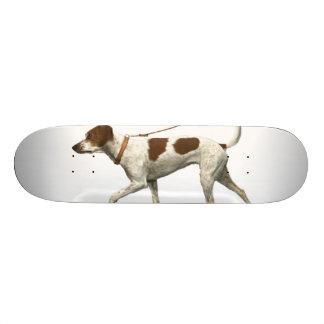 Dog walker - dog tail - braque saint germain skateboard deck
