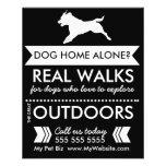 Dog Walker Flyer - Personalizable