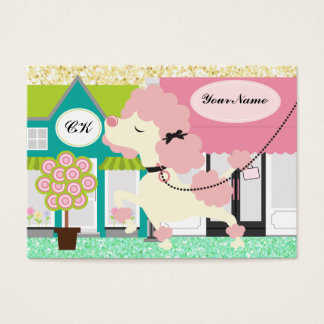 Dog Walker / Groomer / Etc. - SRF Business Card