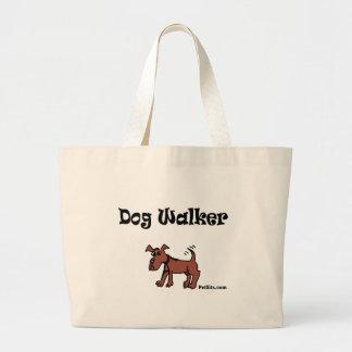 Dog Walker Jumbo Tote Bag