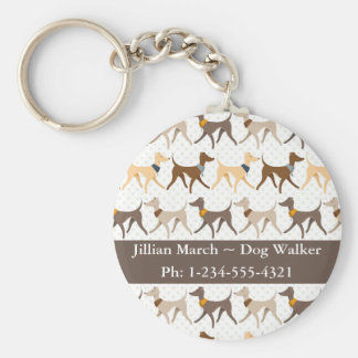 Dog Walker Keychain