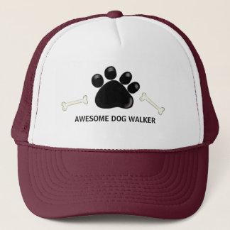Dog Walker Paw Prints Trucker Hat