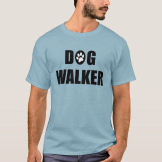 Dog Walker (paw) T-Shirt