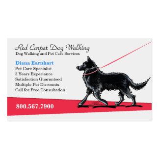Dog Walker Pet Business Fancy Belgian Business Card Template