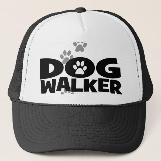 Dog walker promotional trucker hat  0a400e3bcc8