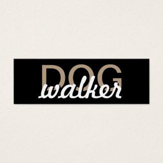 dog walker punch card