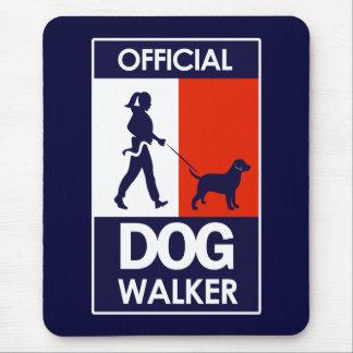 DOG WALKER SHIRT MOUSE PAD