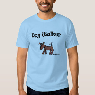 Dog Walker T Shirt