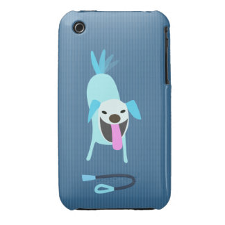 Dog Walkers Dog with Leash iPhone 3 Covers