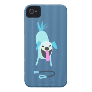 Dog Walkers Dog with Leash iPhone 4 Case-Mate Case