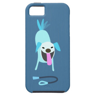 Dog Walkers Dog with Leash iPhone SE/5/5s Case