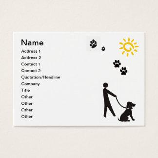 Dog Walking Business Card