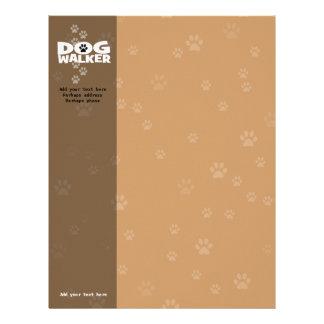 Dog Walking Business Letterhead Stationery