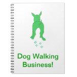 Dog Walking Business Notebook