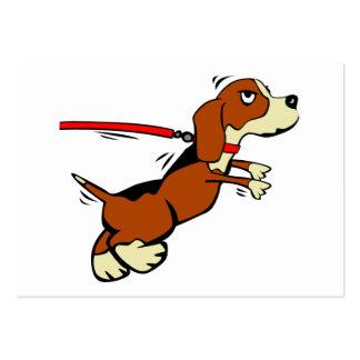 Dog Walking Co. Large Business Card
