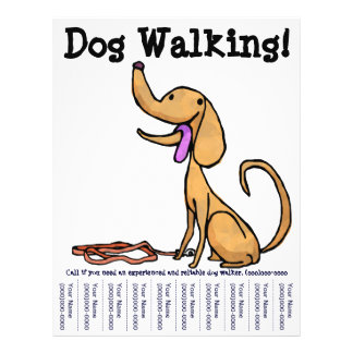 Dog Walking! Flyer