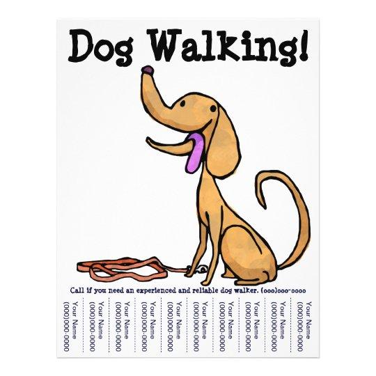 Dog Walking! Flyer