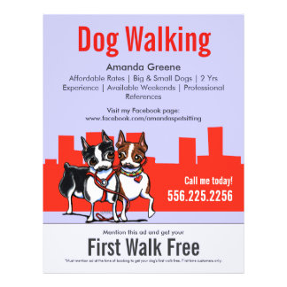 How to write dog walking ads