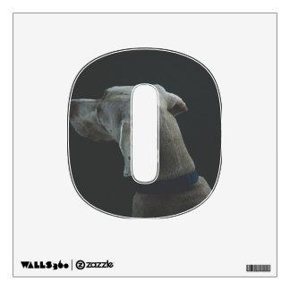 dog wall sticker