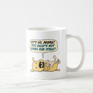 Dog Wants Belly Rub Coffee Mug