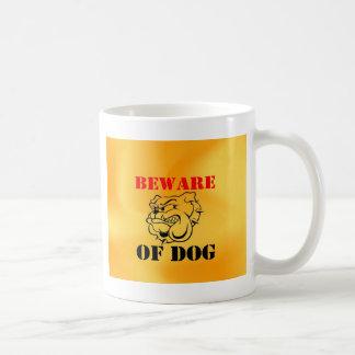 Dog Warning Pet beware Coffee Mug